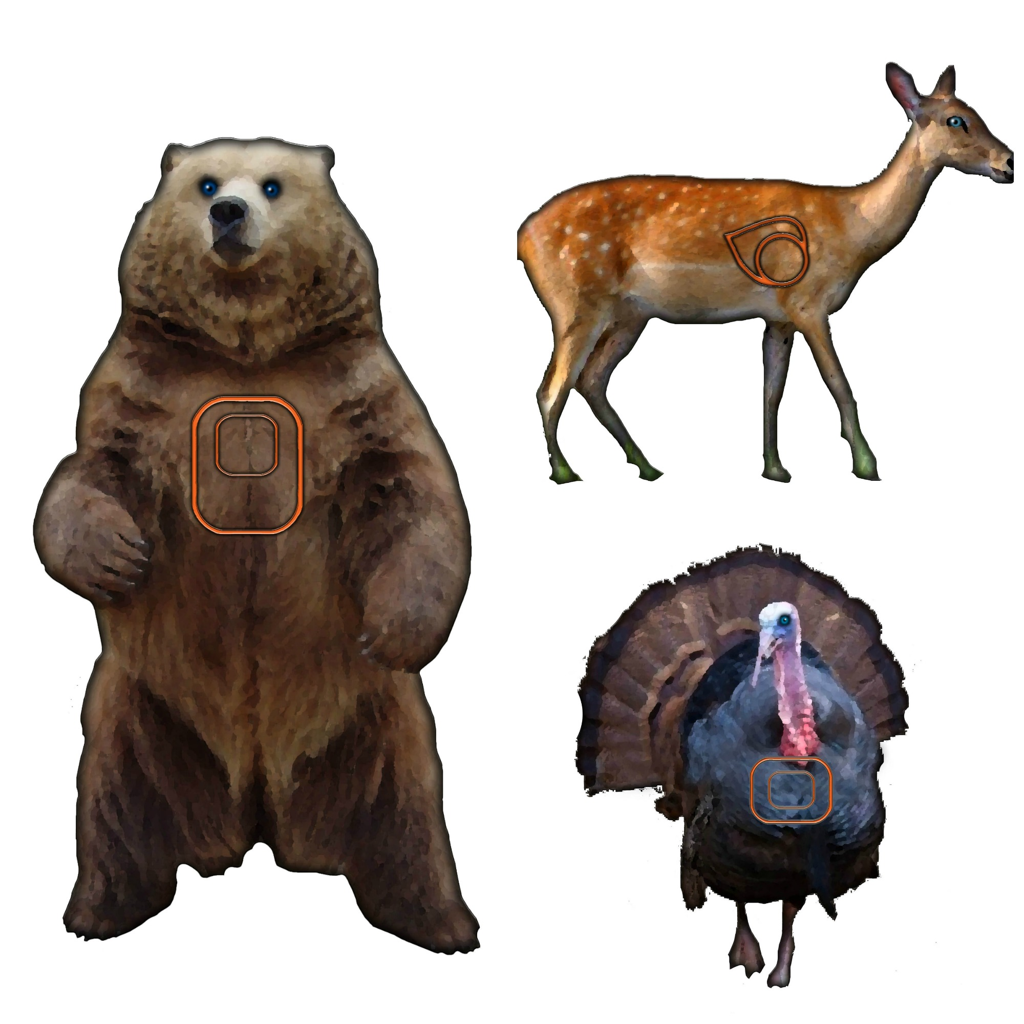Enterprising image pertaining to printable animal targets